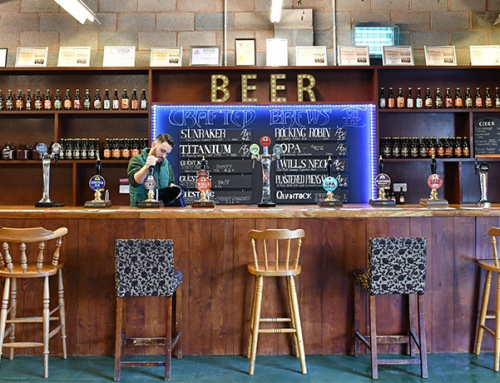 QUANTOCK BREWERY TAPROOM RE-OPENING!