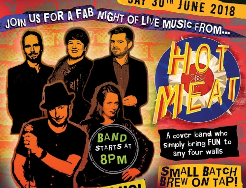 30th June 2018 – Live Music from Hot Meat