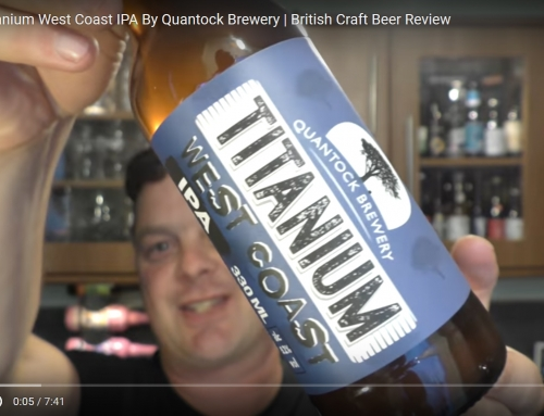 Titanium Featured on Real Ale Craft Beer Reviews.