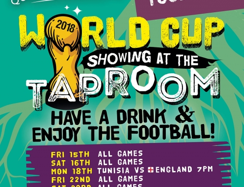 Taproom World Cup Schedule