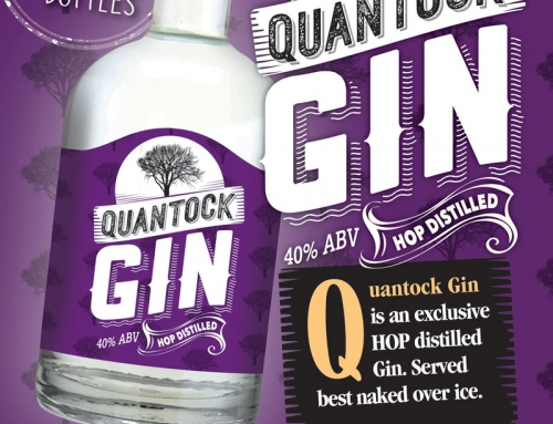 Quantock Gin Now Available.