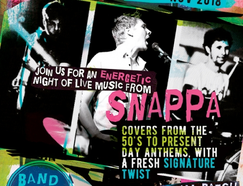 Music Night – Saturday 24th November – Snappa