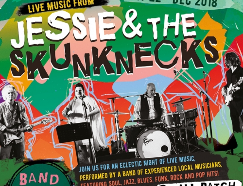 Live Music – 22nd December 2018 – Jessie and the Skunknecks