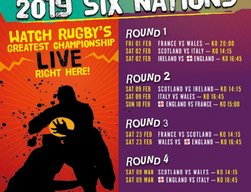 Watch the Six Nations Rugby @ Quantock Brewery Tap