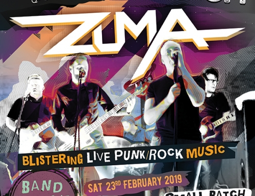 Music Night – 23rd Feb – Zuma