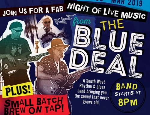 Music Night – 30th March – The Blue Deal