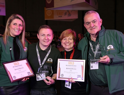 Quantock Brewery's Titanium & QPA both win GOLD at SIBA National Independent Beer Awards 2019