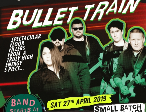 Live Music Night: Bullet Train – Sat 27th April 2019