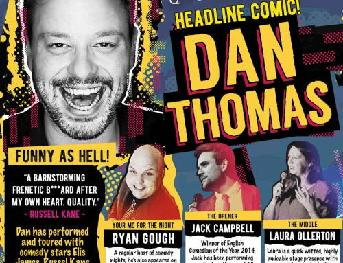 Comedy Night – Saturday 22nd June – Dan Thomas