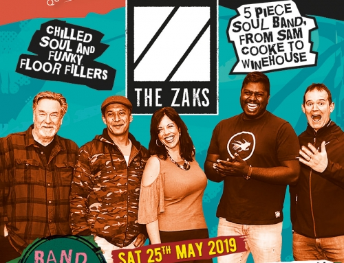 Live Music – 25th May – The Zaks