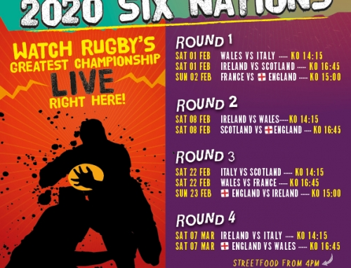 Watch the Six Nations @ Quantock Taproom