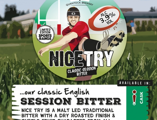 Introducing our Six Nations Beer – Nice Try