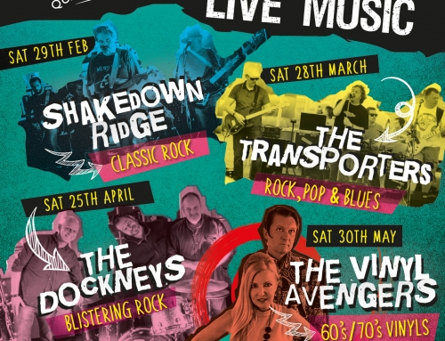 Live music nights – Feb – May 2020