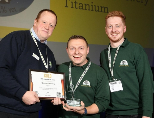 Quantock Brewery wins overall champion cask beer at Beer X